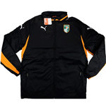 2012-13 Ivory Coast Puma Padded Jacket (Black)