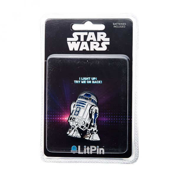 Star Wars R2-D2 Light Up Pin
