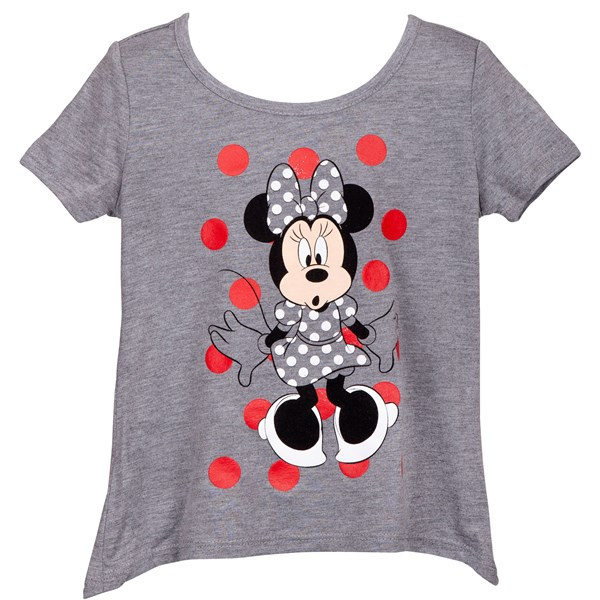 Minnie Mouse Grey Youth T-Shirt
