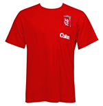 Coca-Cola Men's Red Pocket T-Shirt