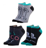 Sony PlayStation 3 Pair Ankle Socks