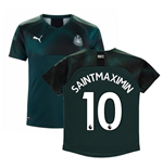 2019-2020 Newcastle Away Football Shirt (Kids) (Saint-Maximin 10)