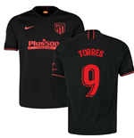 2019-2020 Atletico Madrid Away Nike Football Shirt (TORRES 9)