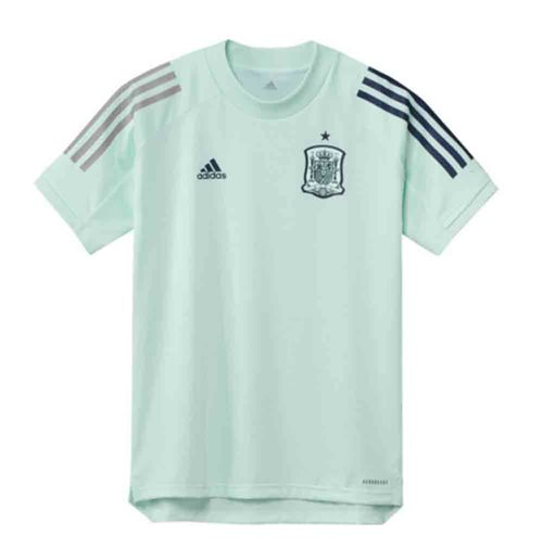 2020-2021 Spain Adidas Training Jersey (Dash Green) - Kids