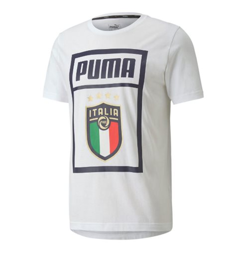 2019-2020 Italy Puma Graphic DNA Tee (White)