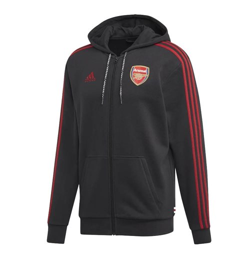 2019-2020 Arsenal Adidas Full Zip Hoody (Black)