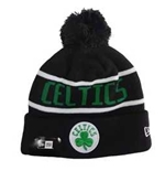 Boston Celtics Pom Pom Winter Beanie