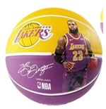Los Angeles Lakers Lebron James Official Replica Basketball Ball