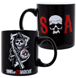 Sons Of Anarchy 20 Ounce Black Ceramic Mug
