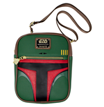 Boba Fett Faux Leather Crossbody Purse