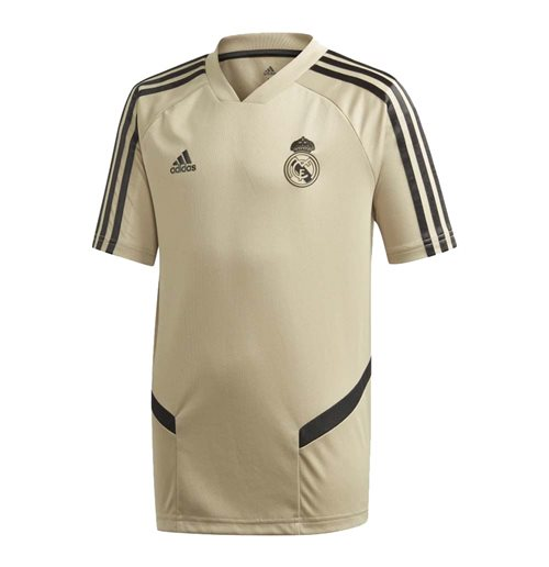 2019-2020 Real Madrid Adidas Training Shirt (Gold) - Kids