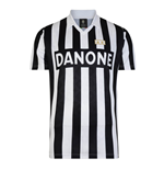 Score Draw Juventus 1993 UEFA Cup Final Retro Football Shirt