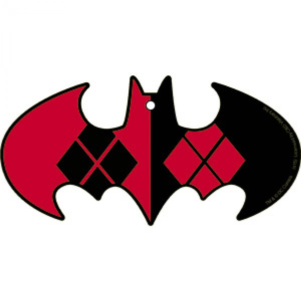 Batman Harley Quinn Air Freshener 2-Pack