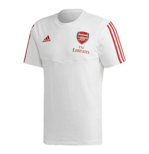 2019-2020 Arsenal Adidas Training Tee (White)