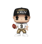 NFL POP! Sports Vinyl Figure Drew Brees (SB Champions XLIV) 9 cm