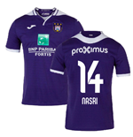 2019-2020 Anderlecht Joma Home Football Shirt (Nasri 14)