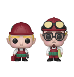 Funko Christmas Village POP! Holiday Vinyl Figures 2-Pack Randy & Rob 9 cm