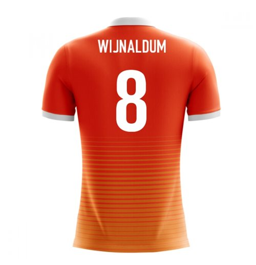 2018-19 Holland Airo Concept Home Shirt (Wijnaldum 8) - Kids