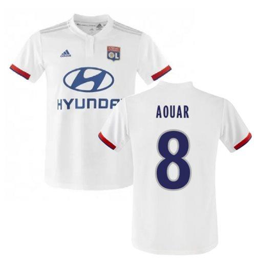 Suburbio Nutrición Maldito  Buy 2019-2020 Olympique Lyon Adidas Home Football Shirt (AOUAR 8)