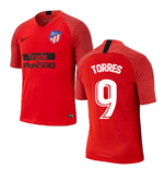 2019-2020 Atletico Madrid Nike Training Shirt (Red) (TORRES 9)