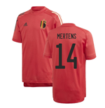 2020-2021 Belgium Adidas Training Shirt (Red) - Kids (MERTENS 14)