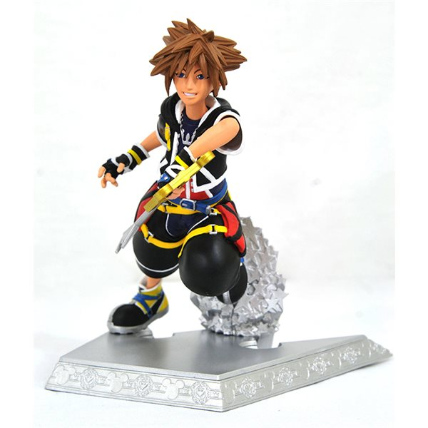 Kingdom Hearts Gallery Sora Fig Statue