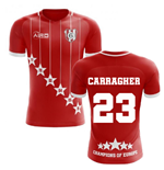 2019-2020 Liverpool 6 Time Champions Concept Football Shirt (Carragher 23)