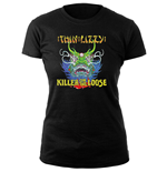 Thin Lizzy Ladies Tee: Killer Lady
