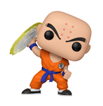 Dragon Ball Z POP! Animation Vinyl Figure Krillin w/ Destructo Disc 9 cm