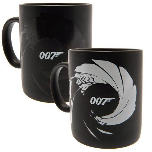 James Bond Heat Changing Mug