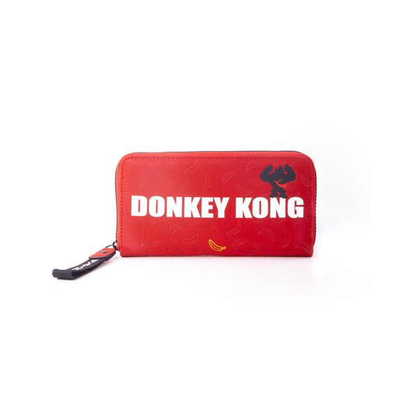 Nintendo - Donkey Kong Zip Around Ladies Wallet