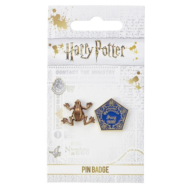 Harry Potter Badge Chocolate Frog