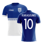 2018-2019 Greece Away Concept Football Shirt (KARAGOUNIS 10)