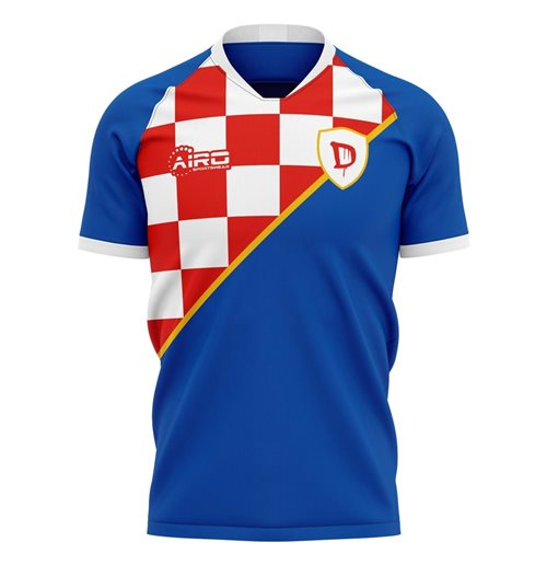 2019-2020 Dinamo Zagreb Home Concept Football Shirt - Kids