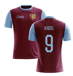 2019-2020 Villa Home Concept Football Shirt (Angel 9)