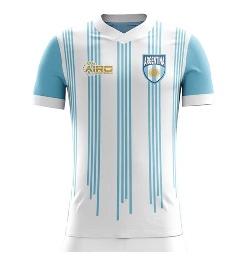 2018-2019 Argentina Home Concept Football Shirt - Little Boys