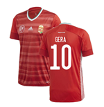 2020-2021 Hungary Home Adidas Football Shirt (GERA 10)