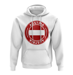 Austria Football Badge Hoodie (White)