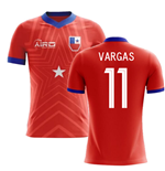 2018-2019 Chile Home Concept Football Shirt (Vargas 11)