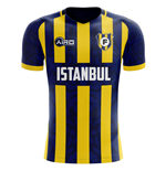 2019-2020 Fenerbahce Home Concept Football Shirt - Adult Long Sleeve