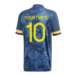 2020-2021 Colombia Away Adidas Football Shirt (Kids) (Your Name)