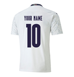 2020-2021 Italy Away Puma Football Shirt (Your Name)