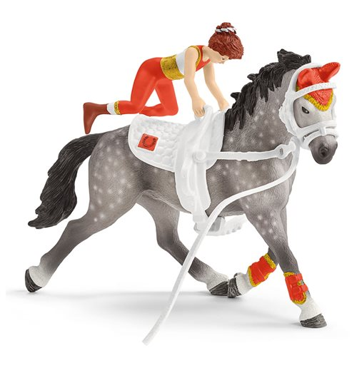 SCHLEICH Horse Club Mia's Vaulting Riding Set