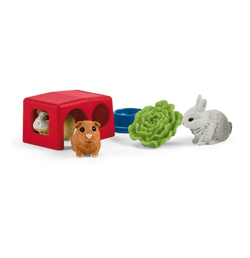 SCHLEICH Farm World Rabbit and Guinea Pig Hutch
