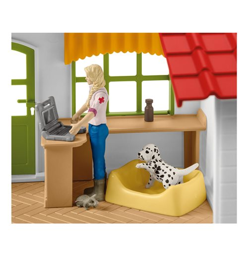 SCHLEICH Farm World Veterinarian Practice with Pets