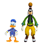 Kingdom Hearts 3 Select Action Figures 2-Pack Goofy & Donald 10 - 18 cm