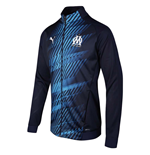 2019-2020 Marseille Stadium Jacket (Peacot)