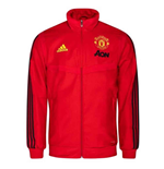 2019-2020 Man Utd Adidas Presentation Jacket (Red) - Kids