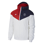 2019-2020 PSG Nike Windunner Jacket (White) - Kids