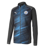 2019-2020 Manchester City Puma Stadium Jacket (Asphalt)
